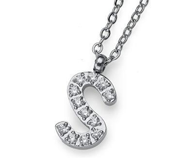 Stylový náhrdelník Initial S 11848