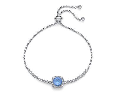 Třpytivý náramek s krystalem Precioso 32253R 143