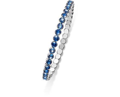 Oliver Weber Třpytivý náramek s modrými krystaly Party 31013 207