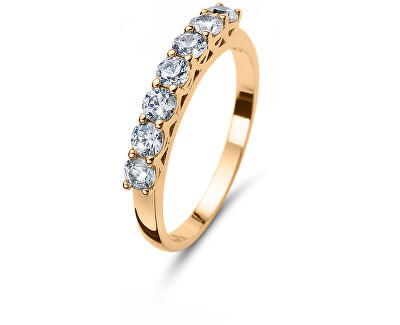 Třpytivý stříbrný prsten 63239G