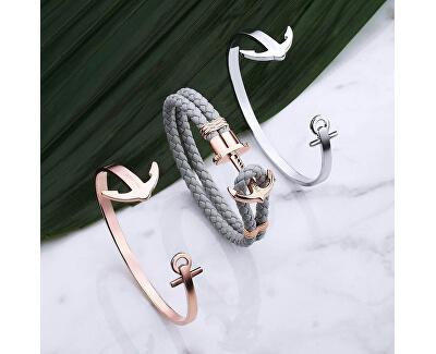 Ocelový náramek s kotvou PH-CU-R/M/A