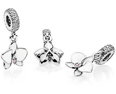 Stříbrný přívěsek Orchidej 791554EN12