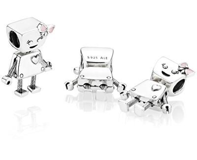 Stříbrný přívěsek Robotka Bella 797141EN160