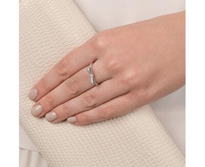 Třpytivý prsten s mašličkou 190906CZ