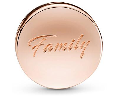 Ružovo pozlátený klip Reflexions Rodinný strom 788822C01