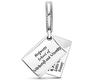 Stříbrný korálek Dopis z Bradavic Harry Potter 799125C01