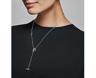 Stříbrný náhrdelník Zářivá srdce 397756NRPMX-55