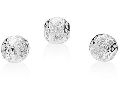 Stříbrný třpytivý korálek 792097