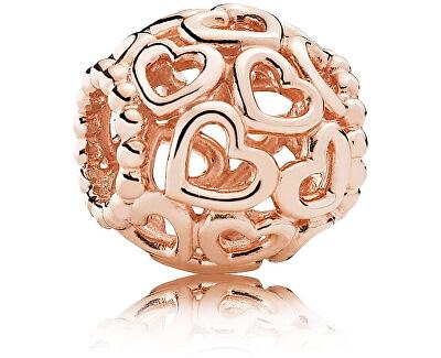 Accesoriu din bronz cu Inimi brățară tip PANDORA 780964