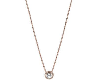 Luxusní bronzový náhrdelník 386240CZ-45