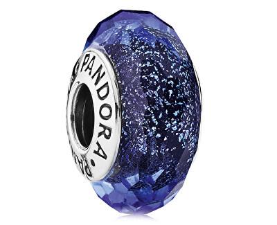 Modrý skleněný korálek 791646