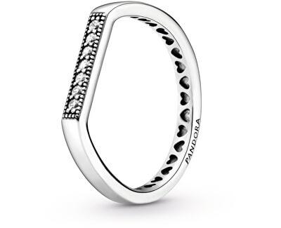 Něžný stříbrný prsten 199041C01