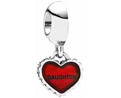în formă de inimă pandantiv Fiica