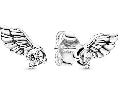 Stříbrné náušnice Andělská křídla 298501CO1