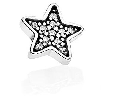 Stříbrný element Hvězdička 792157CZ