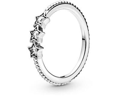 Stříbrný hvězdný prsten 198492C01