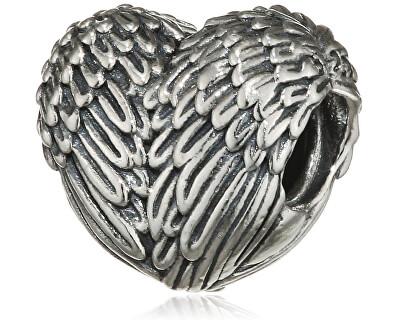 Stříbrný korálek Andělské srdce 791751