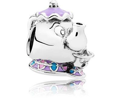 Stříbrný korálek Disney Paní Pottsová a Chip 792141ENMX