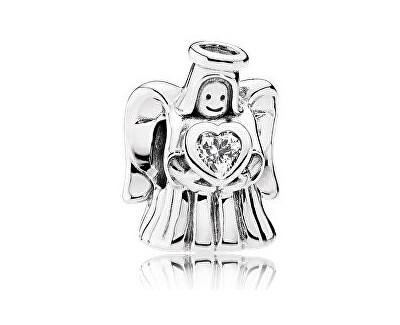 Strieborný korálik Zamilovaný anjel 792010CZ