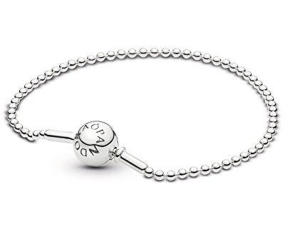 Stříbrný kuličkový náramek Essence 596002