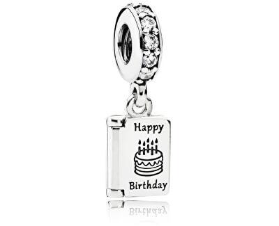 Stříbrný přívěsek Happy Birthday 791723CZ
