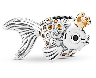 Stříbrný přívěsek Zlatá rybka 792014CCZ