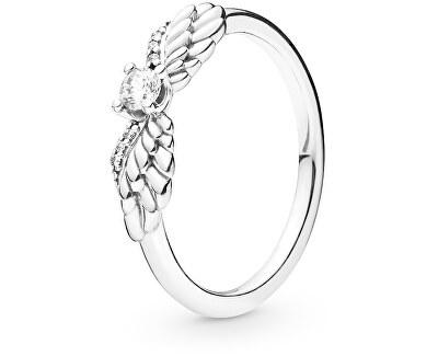 Stříbrný prsten Andělská křídla 198500C01