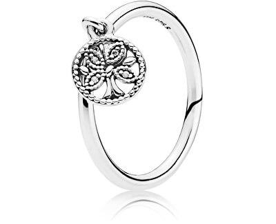 Stříbrný prsten Strom života 197782CZ