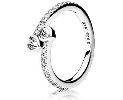 Stříbrný třpytivý prsten 191023CZ