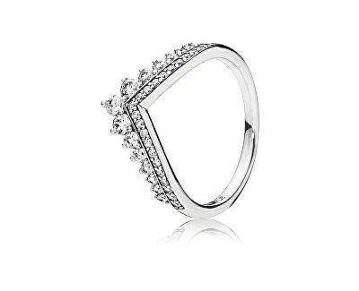 Pandora Stylový stříbrný prsten s třpytivými kamínky 197736CZ ... ab7a9f4c4b6
