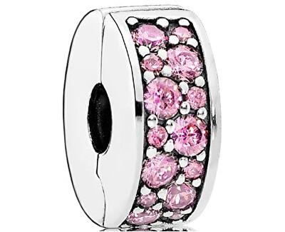 Pandora Třpytivý růžový klip 791817PCZ