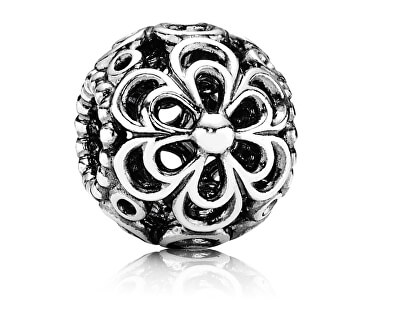 Pandora Stříbrný korálek jabloňový květ 790965