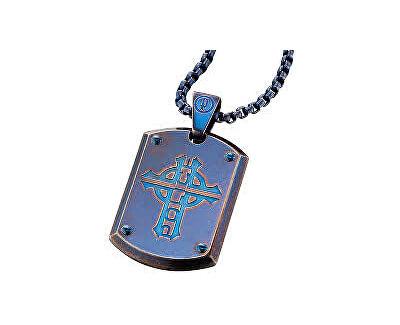 Police Colier albastruProwler PJ25607PSEBL-C pentru bărbați