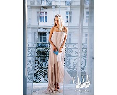 Náhrdelník Preciosa na 53. ročníku filmového festivalu v Karlových Varech zdobil modelku Natálii Kotkovou.