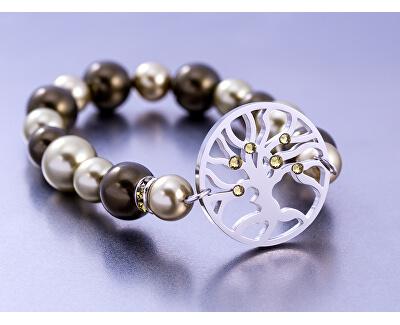 Brățară din oțel cu perle 7299 de măsline 53
