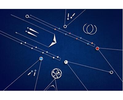 Elegantní ocelové náušnice Gemini 7334 00 - SLEVA