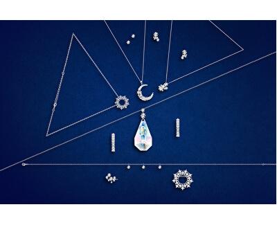 Skvostný stříbrný náhrdelník Orion 6112 42 (řetízek, přívěsek)