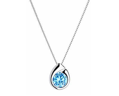 Stříbrný náhrdelník Wispy 5105 67 (řetízek, přívěsek)