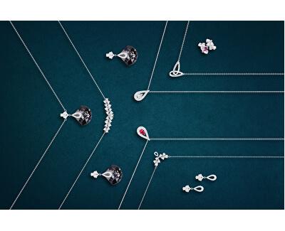 Třpytivý náhrdelník Libra 5242 00 (řetízek, přívěsek)