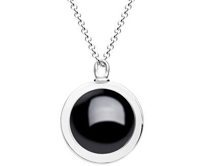 Unikátní stříbrný náhrdelník Singularis Kombi 6116 70 (řetízek, přívěsek)