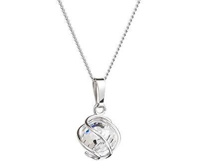 Náhrdelník Romantic Beads Crystal AB 6715 42 (řetízek, přívěsek)