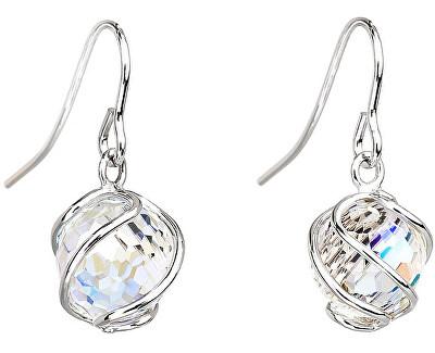 Náušnice Romantic Beads Crystal AB 6716 42