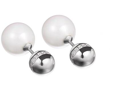 Preciosa Dvojité náušnice s perlami Morning Dew 5203 00
