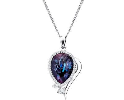 Elegantní náhrdelník Ines Matrix 6110 26 (řetízek, přívěsek)