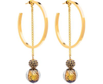 Luxusní náušnice s vinutými perlemi Ribes 7349Y21