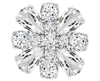 Magnetická brož s čirými krystaly Freesia 2268 00