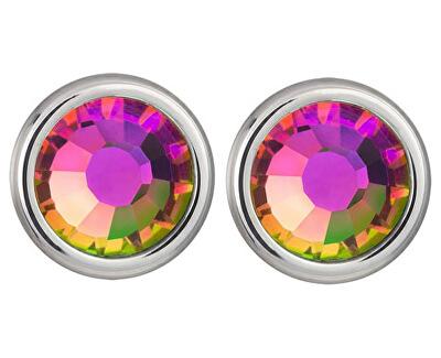 Preciosa Náušnice Carlyn s krystalem Vitrail Medium 7235 41