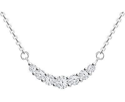 Něžný stříbrný náhrdelník Lynx 5267 00