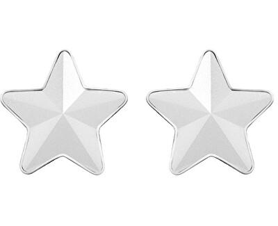 Ocelové náušnice s matnou hvězdičkou Virgo 7343 10
