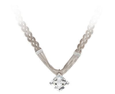 Preciosa Oceľový náhrdelník Fashion Elegance 7260 00